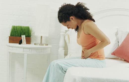Chás contra dor de barriga