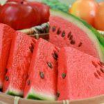 Chá das sementes de melancia