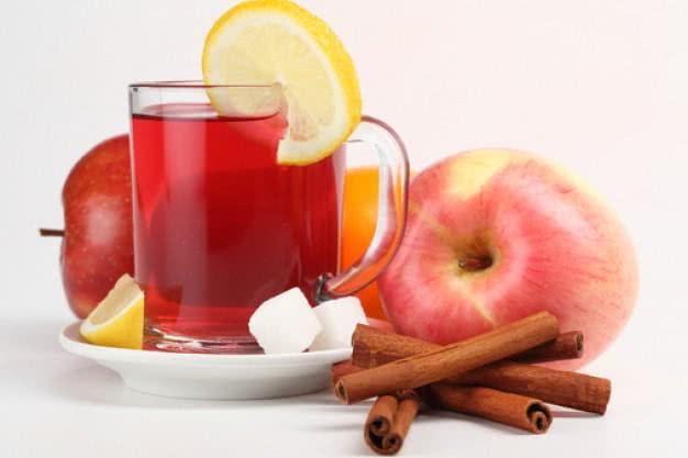 Chá de frutas com poder antioxidante