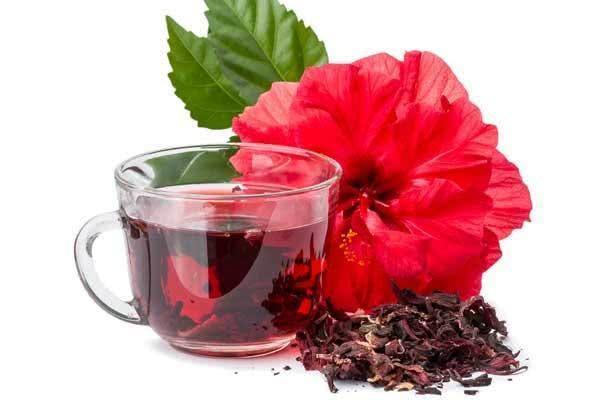 Benefícios da gelatina do chá de hibisco para combater inchaços