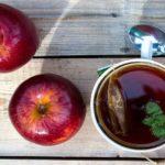 Para quê serve chá verde com maçã e hortelã?